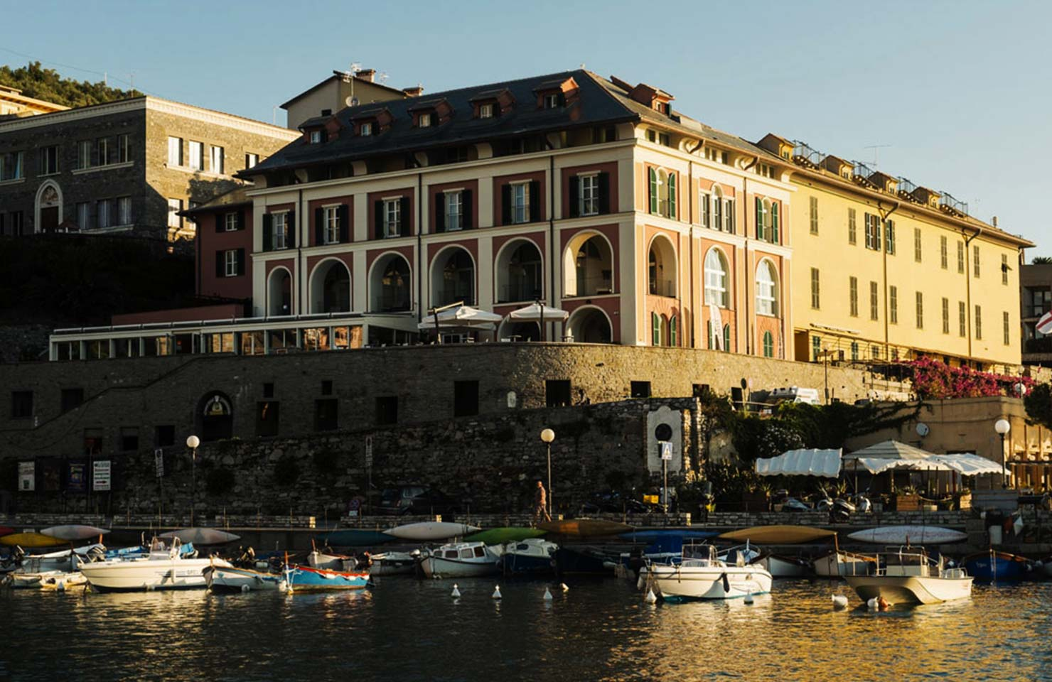 Restructuring of a XV century convent into a hotel-Portovenere (SP)