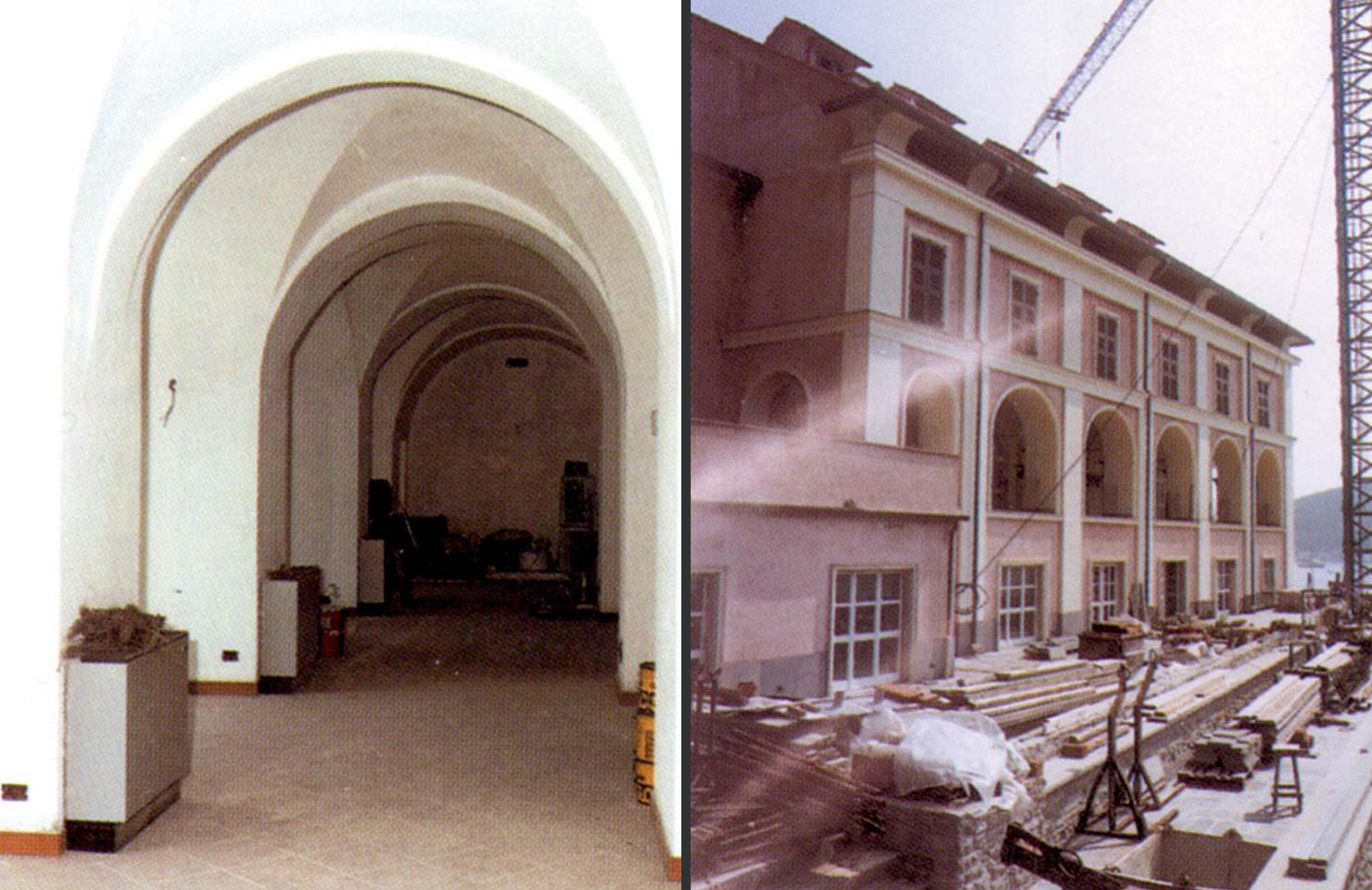 Ristrutturazione ex convento del 1500 in complesso alberghiero-Portovenere(SP)